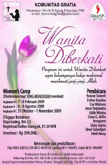 WanitaDiberkatiAgt2009